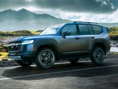 До России добралась Toyota Land Cruiser 300 GR Sport