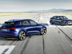Трехмоторный Audi e-tron S выходит на российский рынок