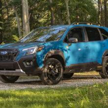 Новый Subaru Forester Wilderness для покорения бездорожья
