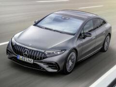Mercedes-AMG EQS 53: первый серийный электромобиль AMG