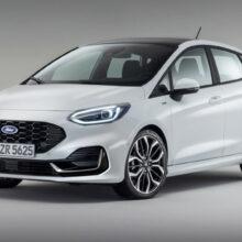 Обновленный хэтчбек Ford Fiesta представлен в Европе
