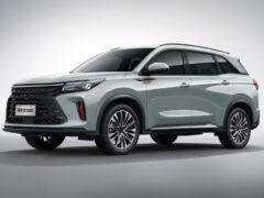 Кроссовер Dongfeng 580 нового поколения выходит на рынок
