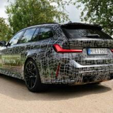 На подходе универсал BMW M3 Touring
