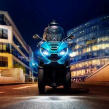 Скутеры Peugeot выходят на российский рынок
