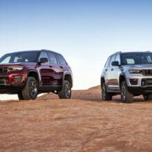 Jeep Grand Cherokee нового поколения: версии для Европы и России