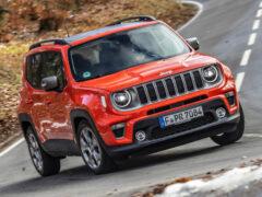 Jeep Renegade ушел с российского рынка