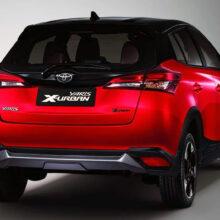 Альтернативная Toyota Yaris обзавелась кросс-версией X-Urban
