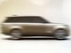 Новый Range Rover: первые тизеры
