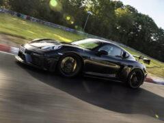 Самый мощный Porsche 718 показал свои возможности до дебюта